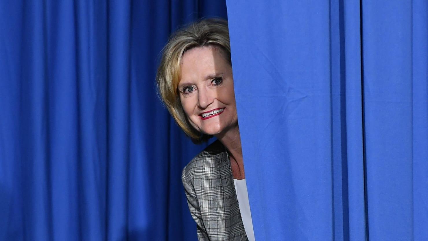 Republican Senator Cindy Hyde-Smith Calls Voter Suppression a 'Great Idea'