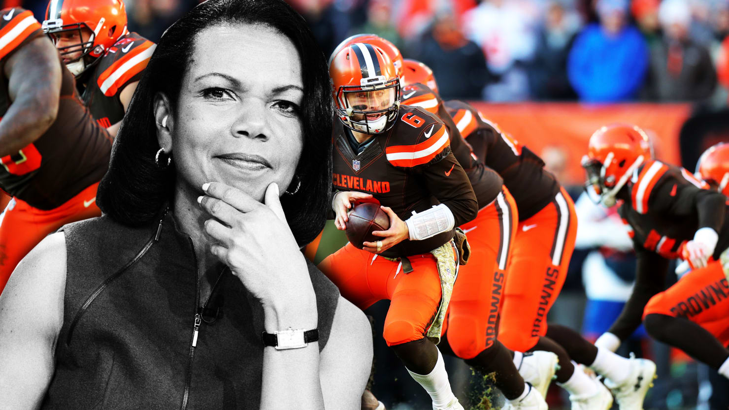 Why Condoleezza Rice Should Coach the NFL's Cleveland Browns