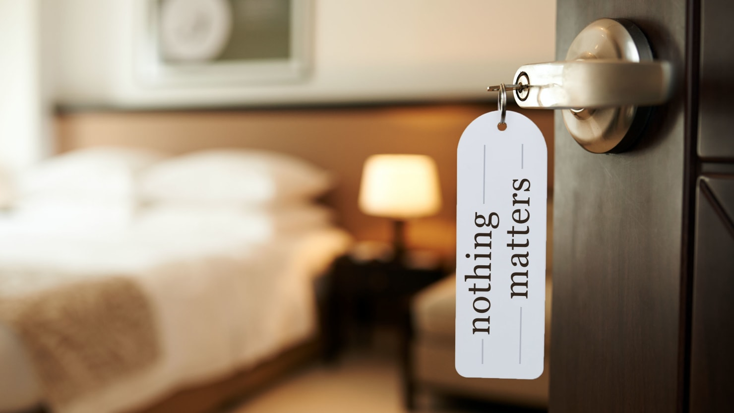 Why Hotel Rooms Can Trigger Your Existential Dread