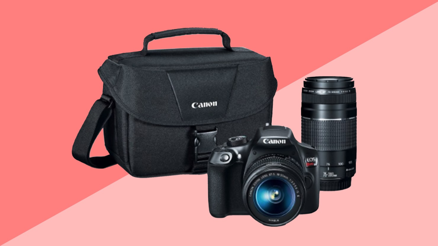 Get This Canon Eos Rebel T6 Camera And Lens Kit On Sale For 399