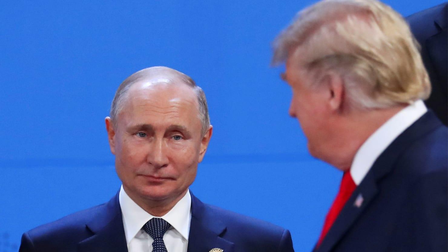 Russia roasts Trump