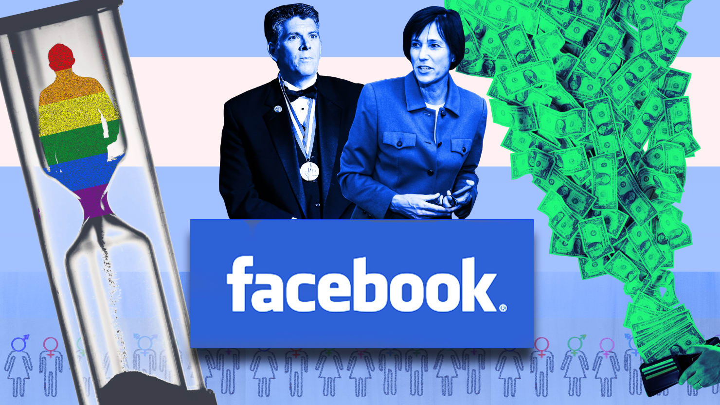 facebook says it s anti conversion therapy but it funded candidates