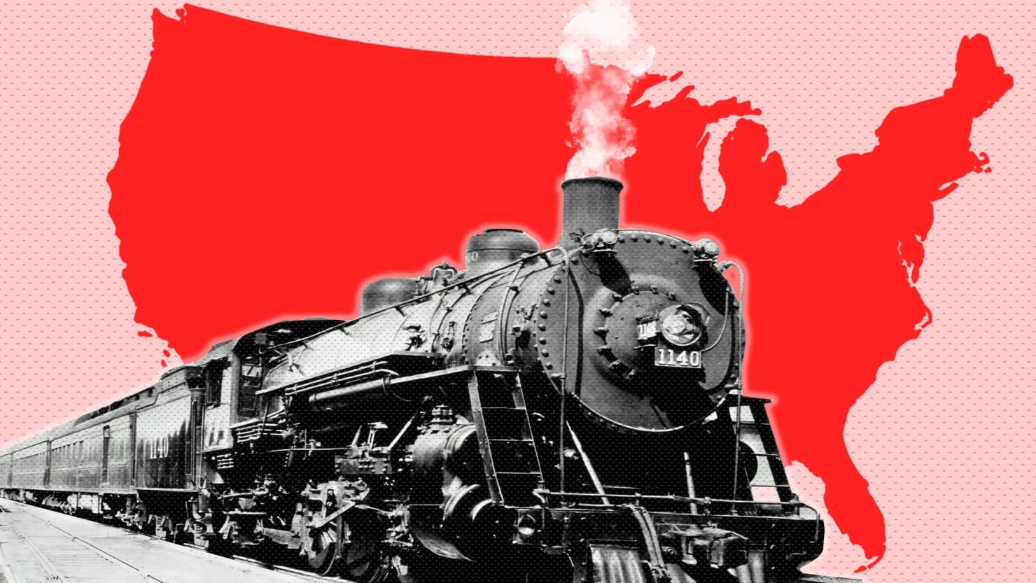 The Retro Joy Of Seeing America By Train