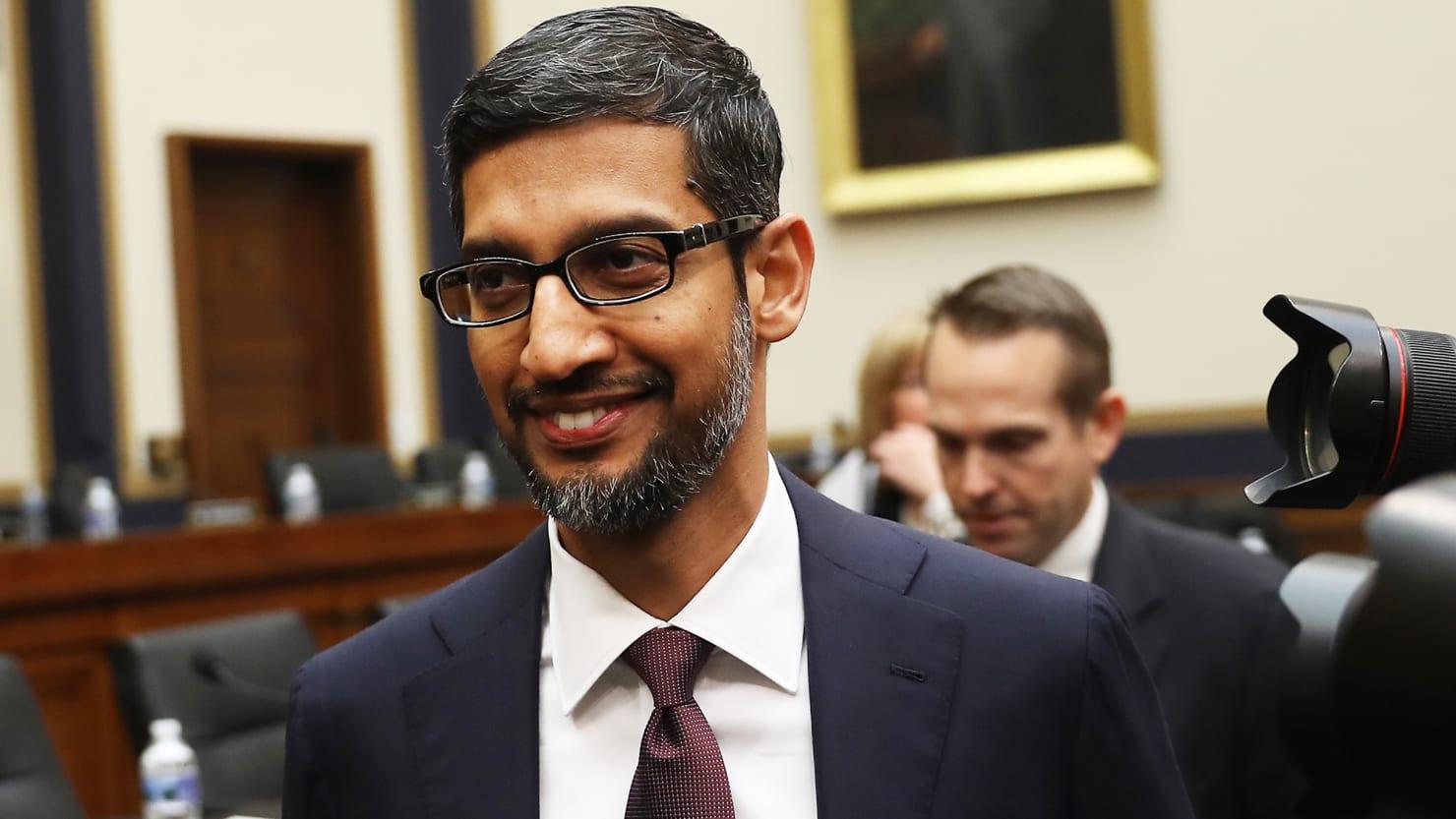 Google CEO Sundar Pichai Dodges Questions, Lets Republicans Embarrass Themselves