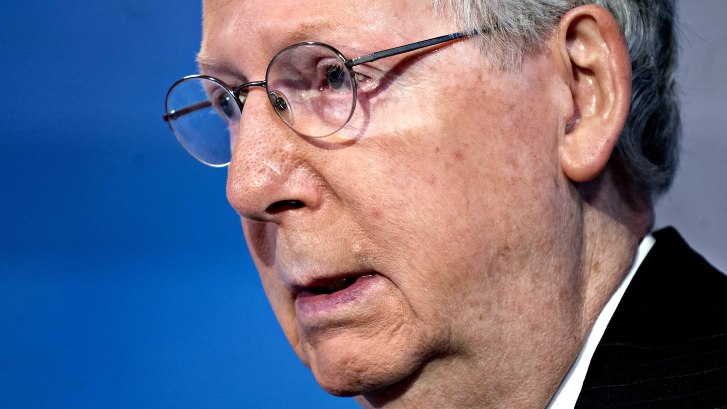 Inside Mitch McConnell Is the Mind of a Soviet Apparatchik