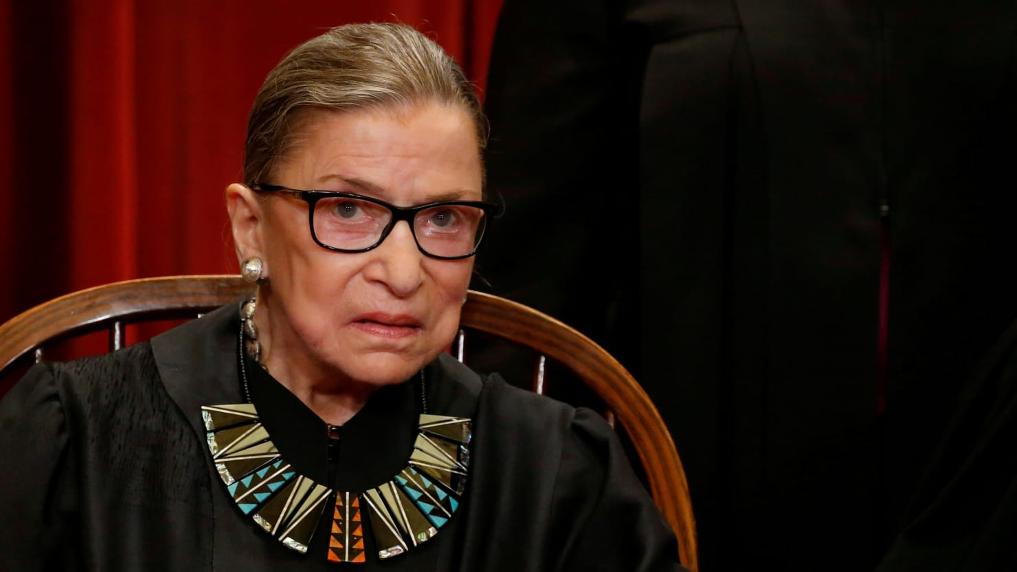 RBG misses Scotus arguments for the first time