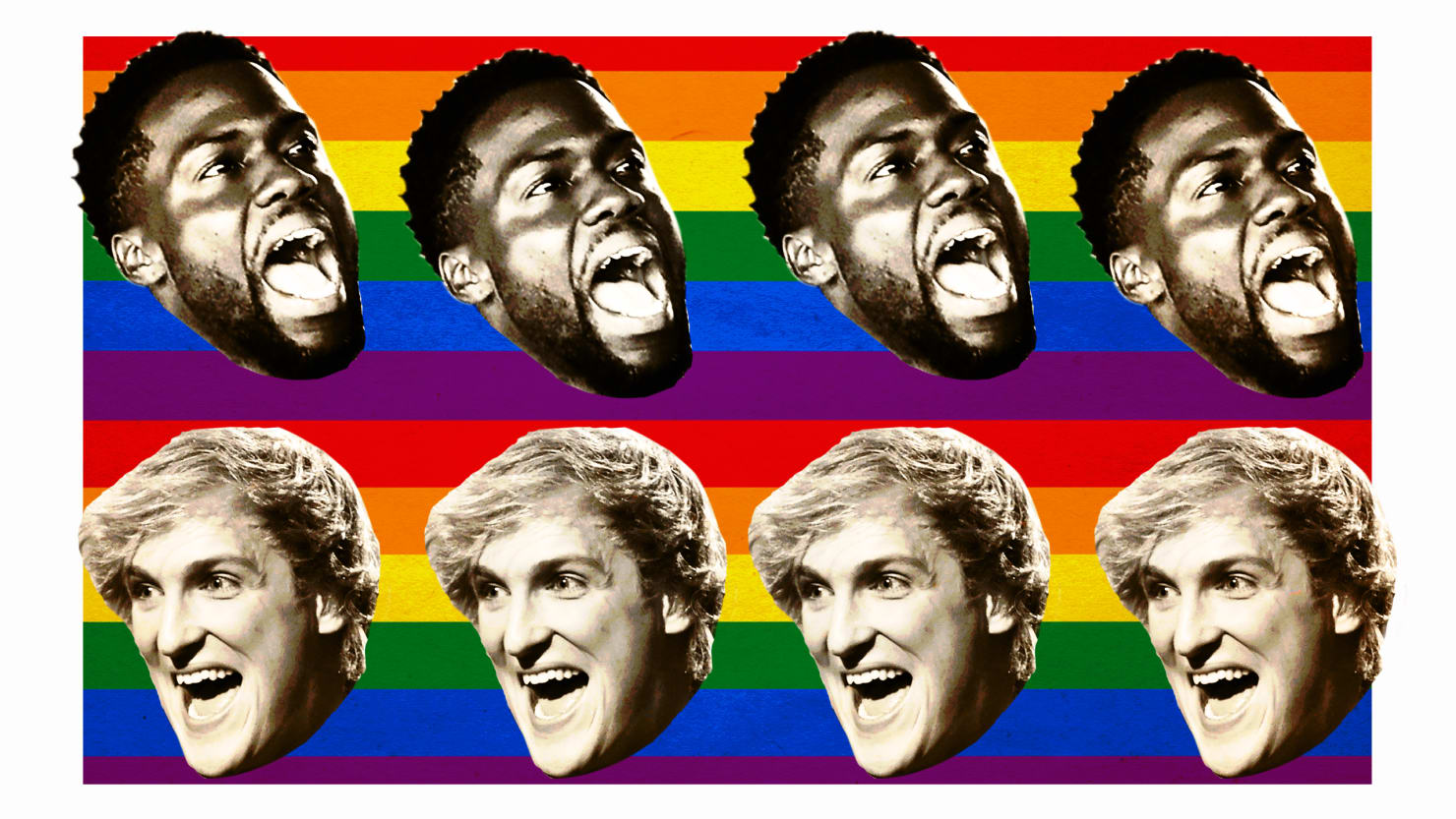 Gee Thanks Logan Paul And Kevin Hart For That Exhausting Week Of Gay Stupid