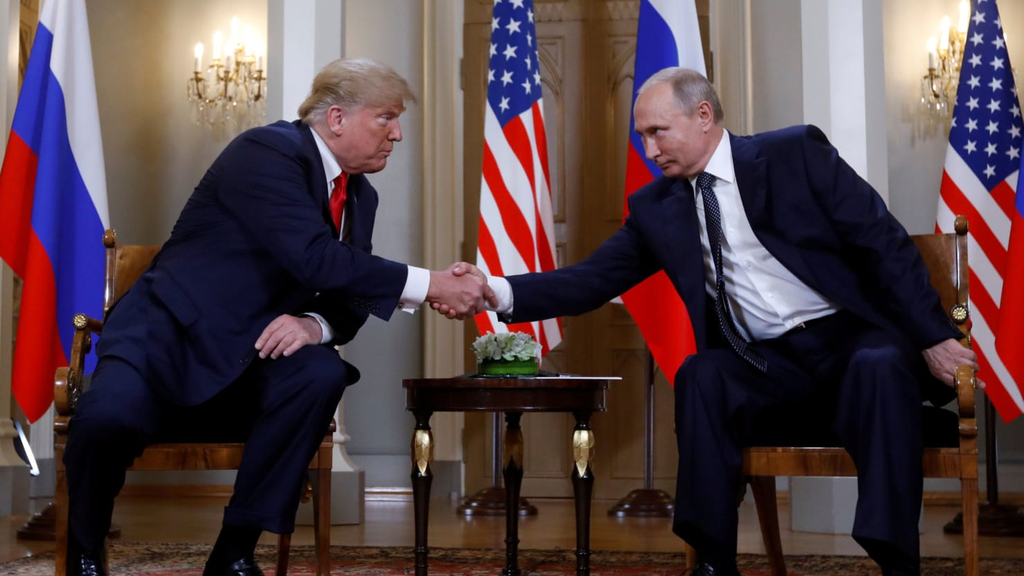 Trump Concealed Details of Encounters With Putin From Senior Officials: Report