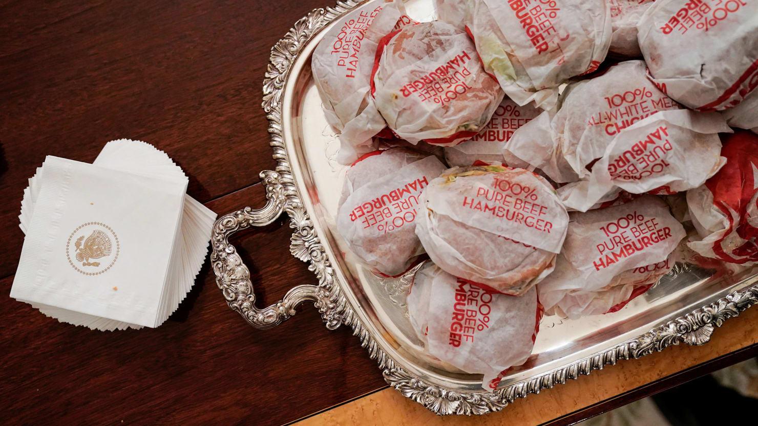 D.C. Eateries Grimace at Trump's Fast-Food Kick