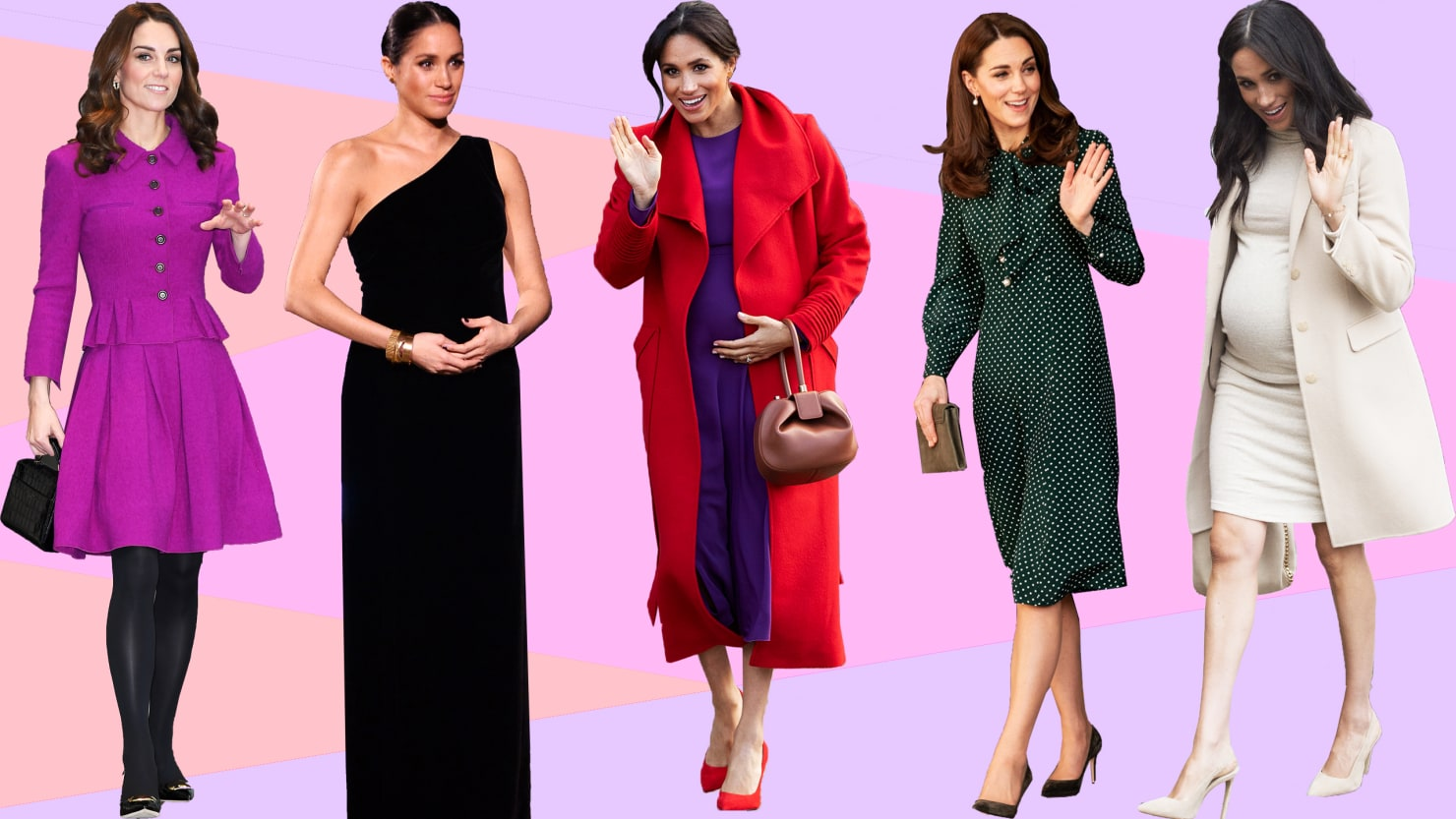 Meghan Markle And Kate Middleton Reveal The New Rules Of