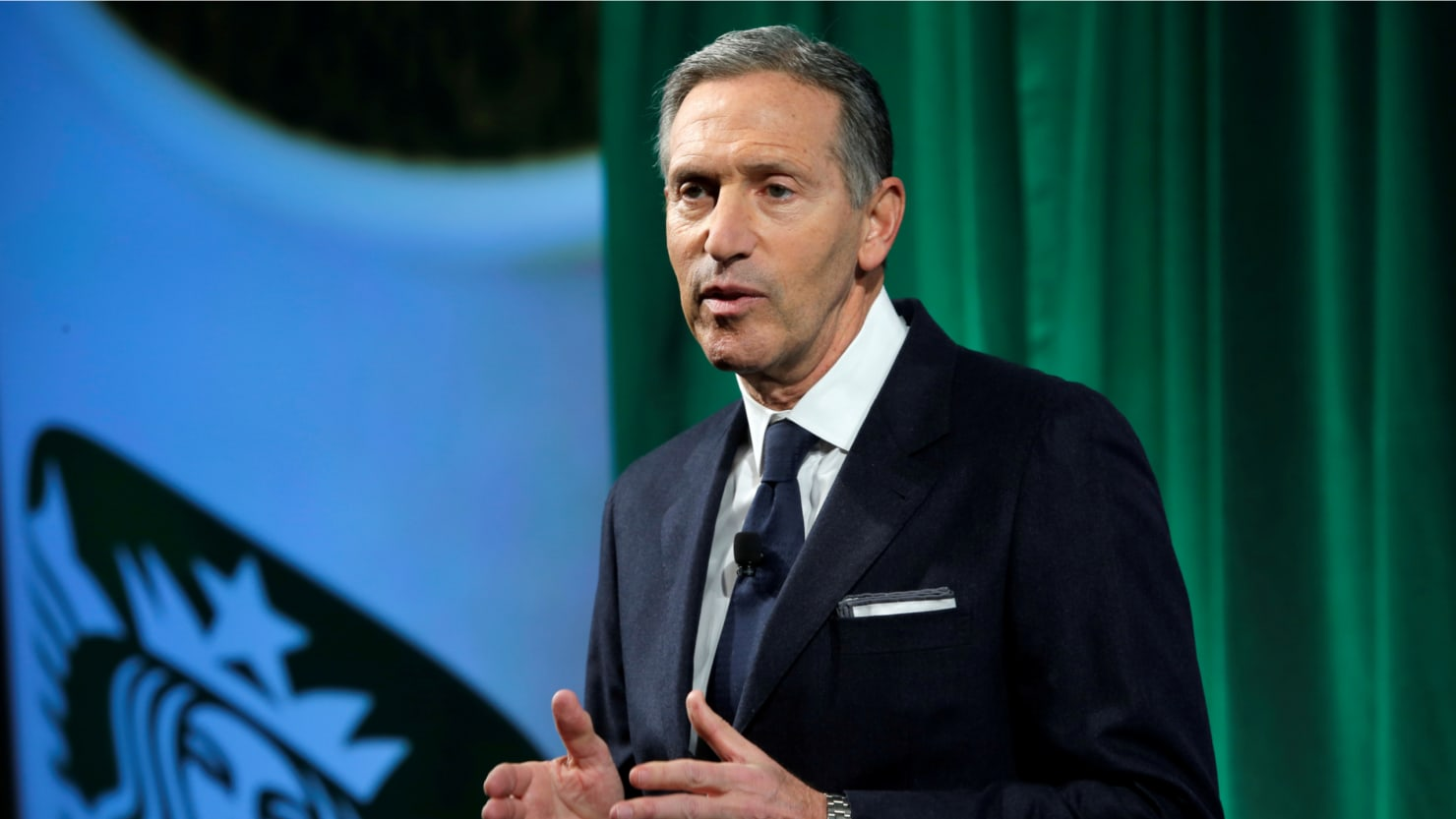 Image result for howard schultz president