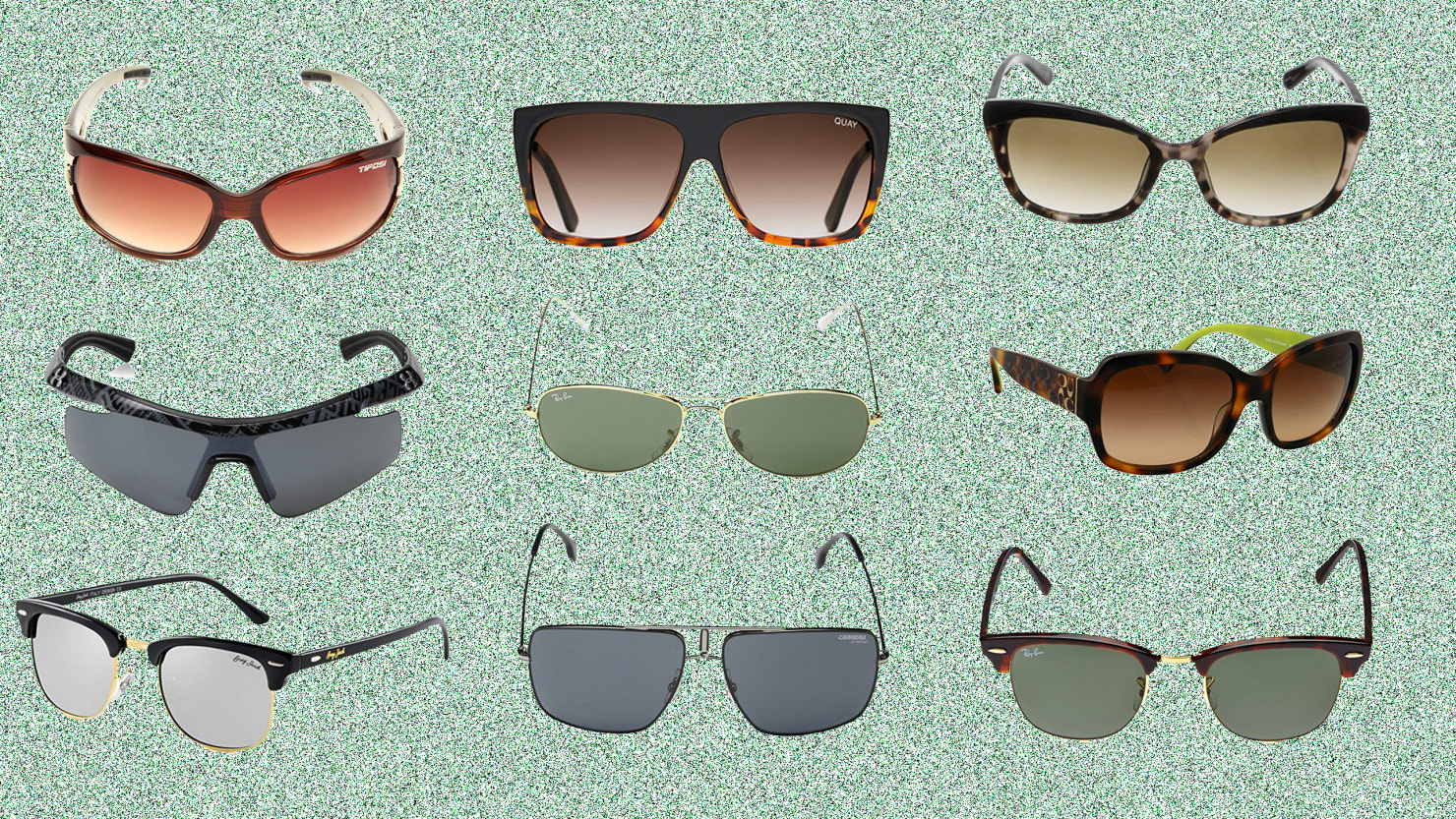 Scouted: Five Styles of Sunglasses Fit For Any Face, From Aviator to Cateye