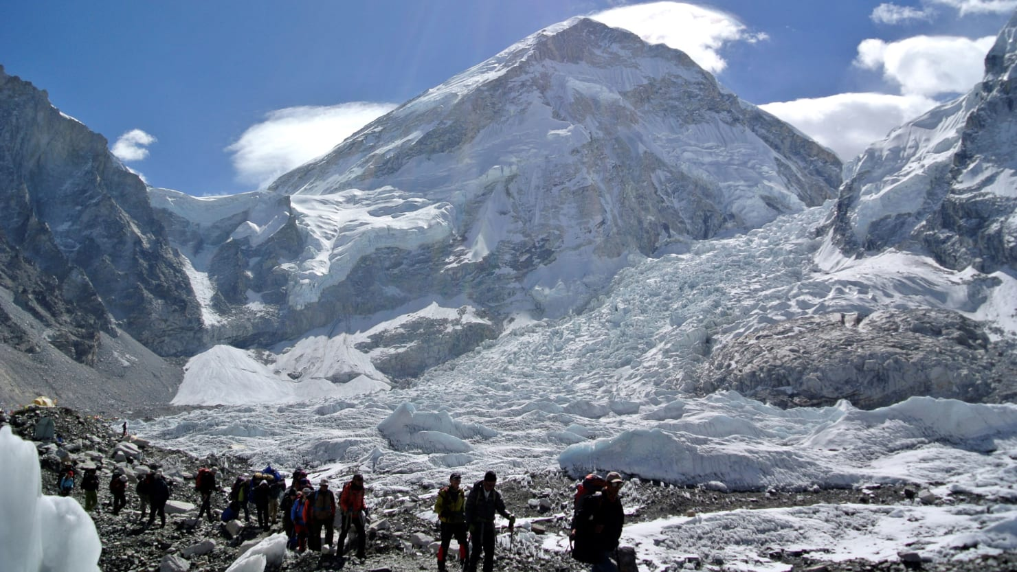 China Closes Everest Base Camp After Human Waste and Trash Piles Up