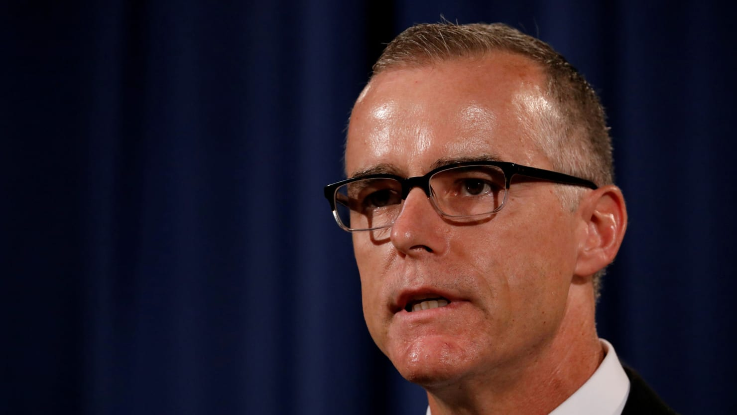 McCabe: 25th Amendment Story Was 'Taken Out of Context'