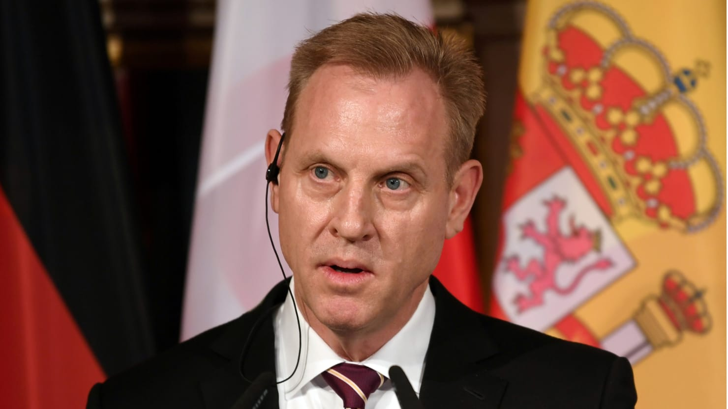 Acting Defense Secretary Patrick Shanahan 'Slammed' by Lawmakers in Munich Over Trump's Syria Withdrawal