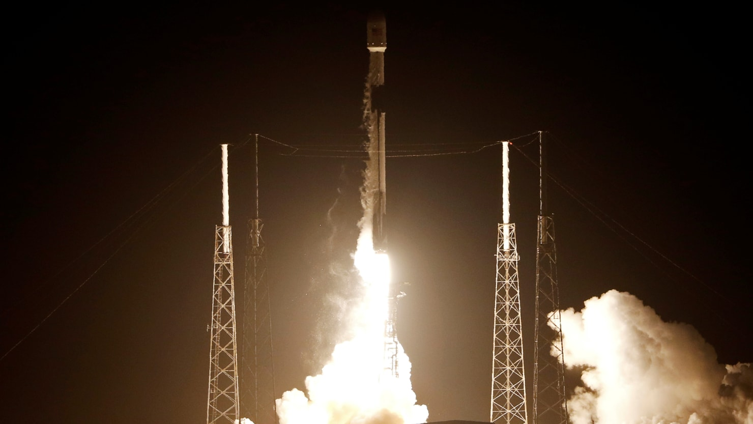 Israel's First Moon-Bound Mission Takes Off From Florida