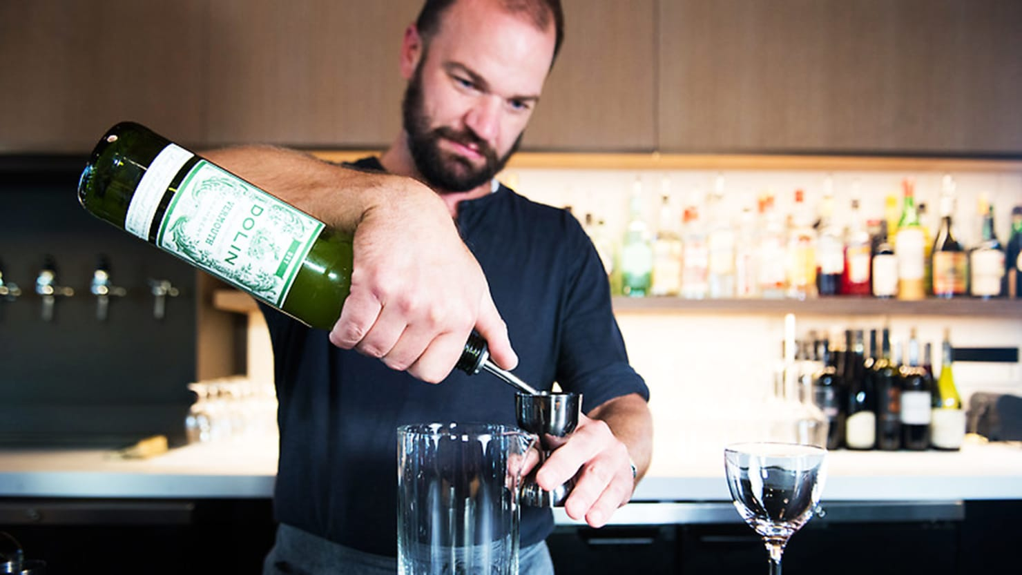 I want to be a bartender