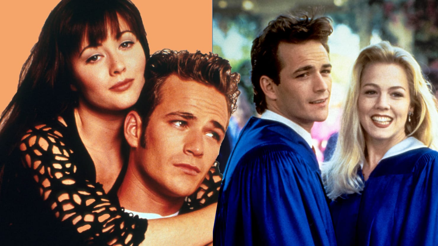 Luke Perry: 'Beverly Hills, 90210' Teen Icon in the ...  Luke Perry: '...