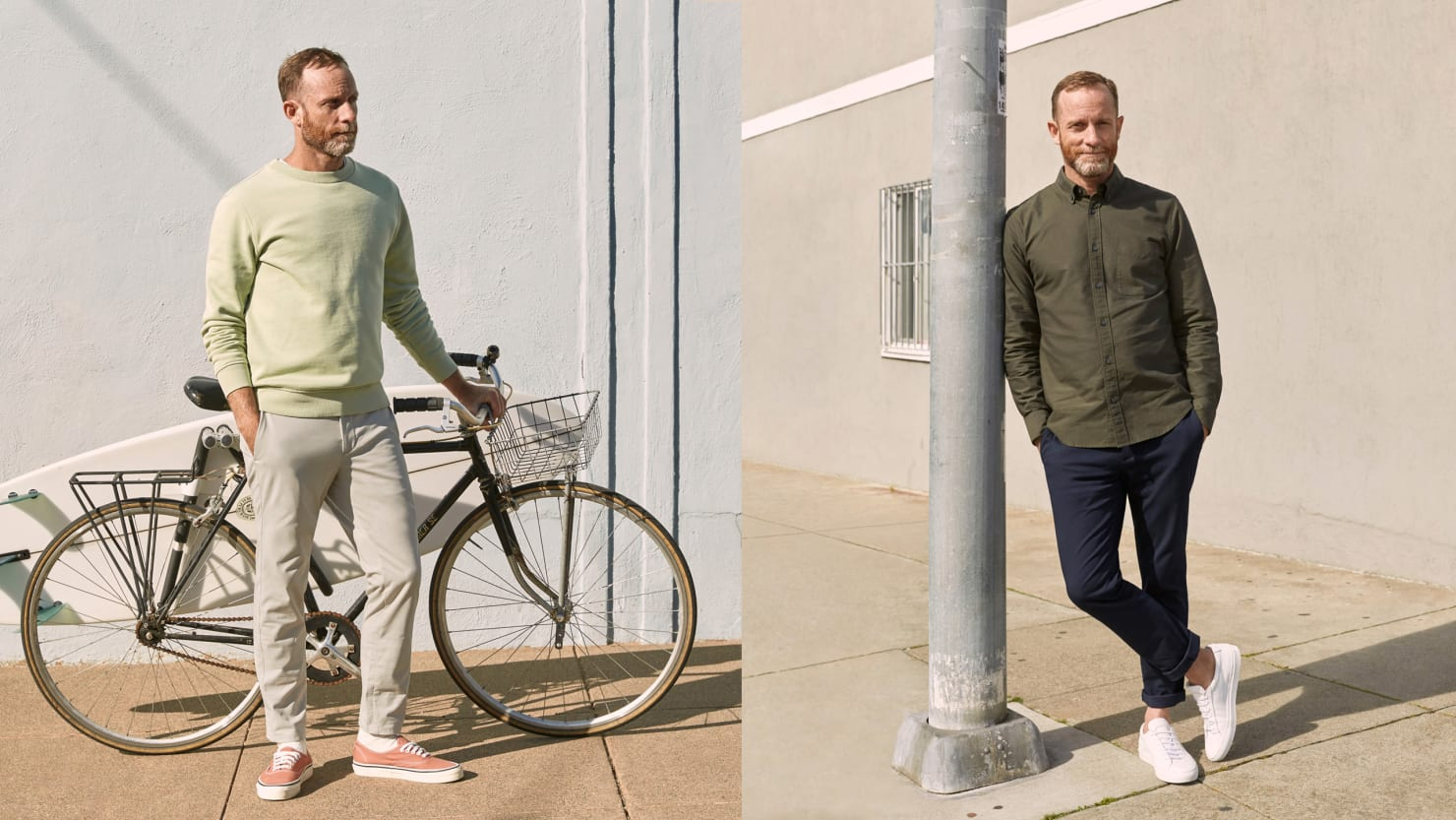 Everlane Made Its Newest Performance Chinos For The Active — And The Budget-Minded