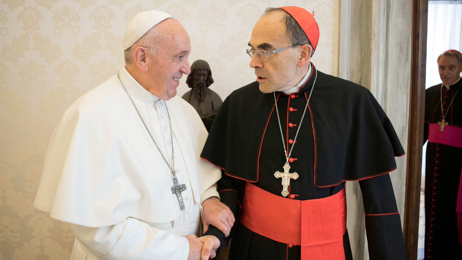 Pope Francis Rejects Resignation of French Cardinal Convicted of Sex-Abuse Cover-Up