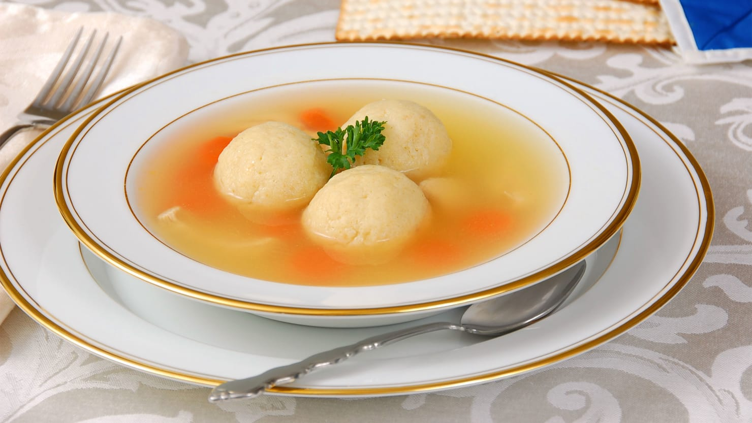Passover Matzo Ball Soup: Joan Nathan's Recipe From the