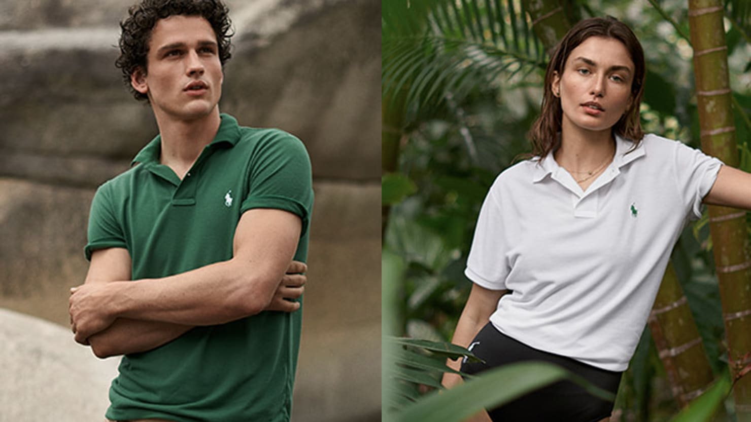 The Earth Polo from Ralph Lauren Is Made from 100% Recycled Plastic Bottles