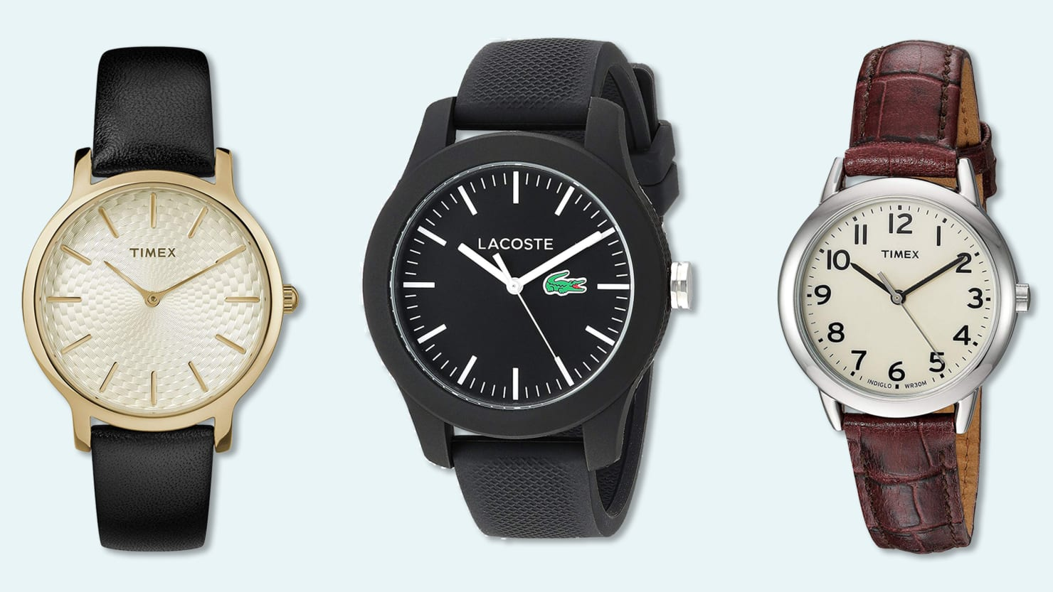 Today Only, Save Up to 50% On Top Brand Watches Like Lacoste, TIMEX, and INVICTA