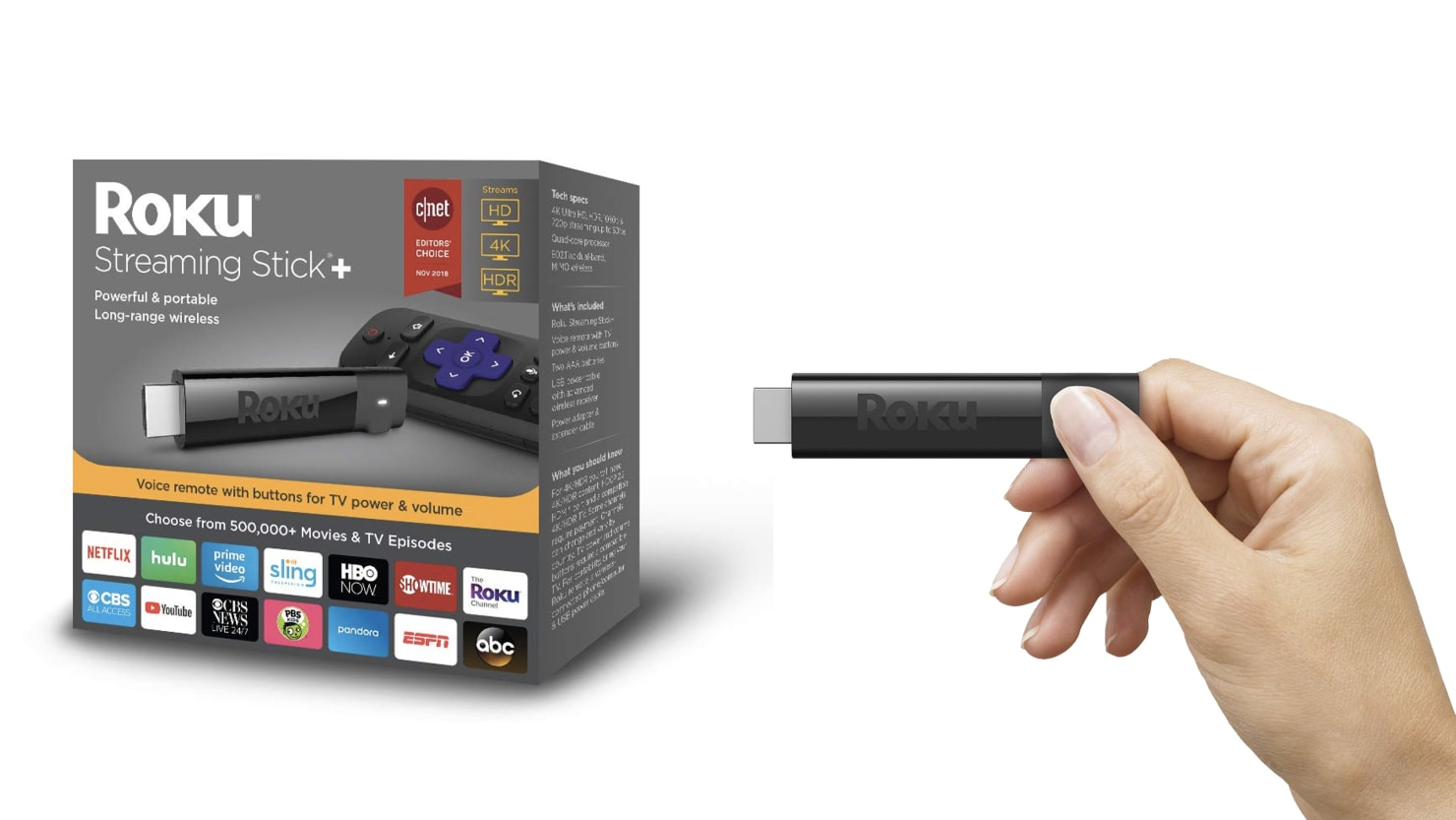 Give Your TV an HD Upgrade With a Discounted Roku Streaming Stick+