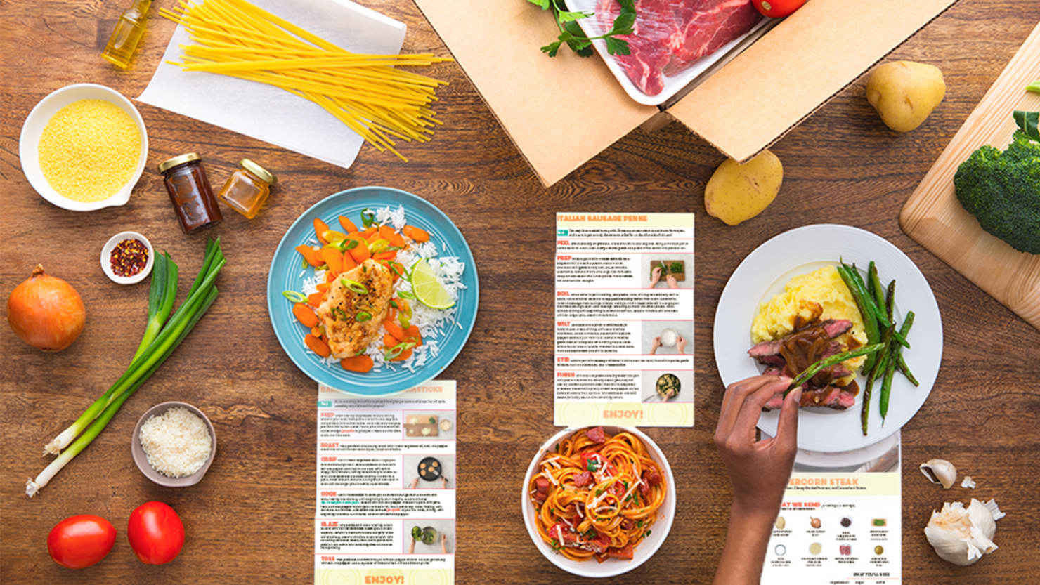 Eco-Friendly EveryPlate Is Offering a Discount to Try Their Meal Kits Right Now