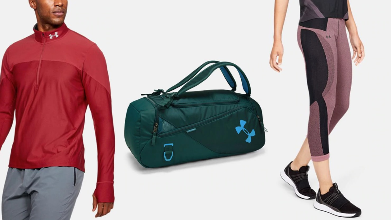 Get an Extra 20% Off Nearly 2,000 Under Armour Sale Items From Compression Apparel to Accessories