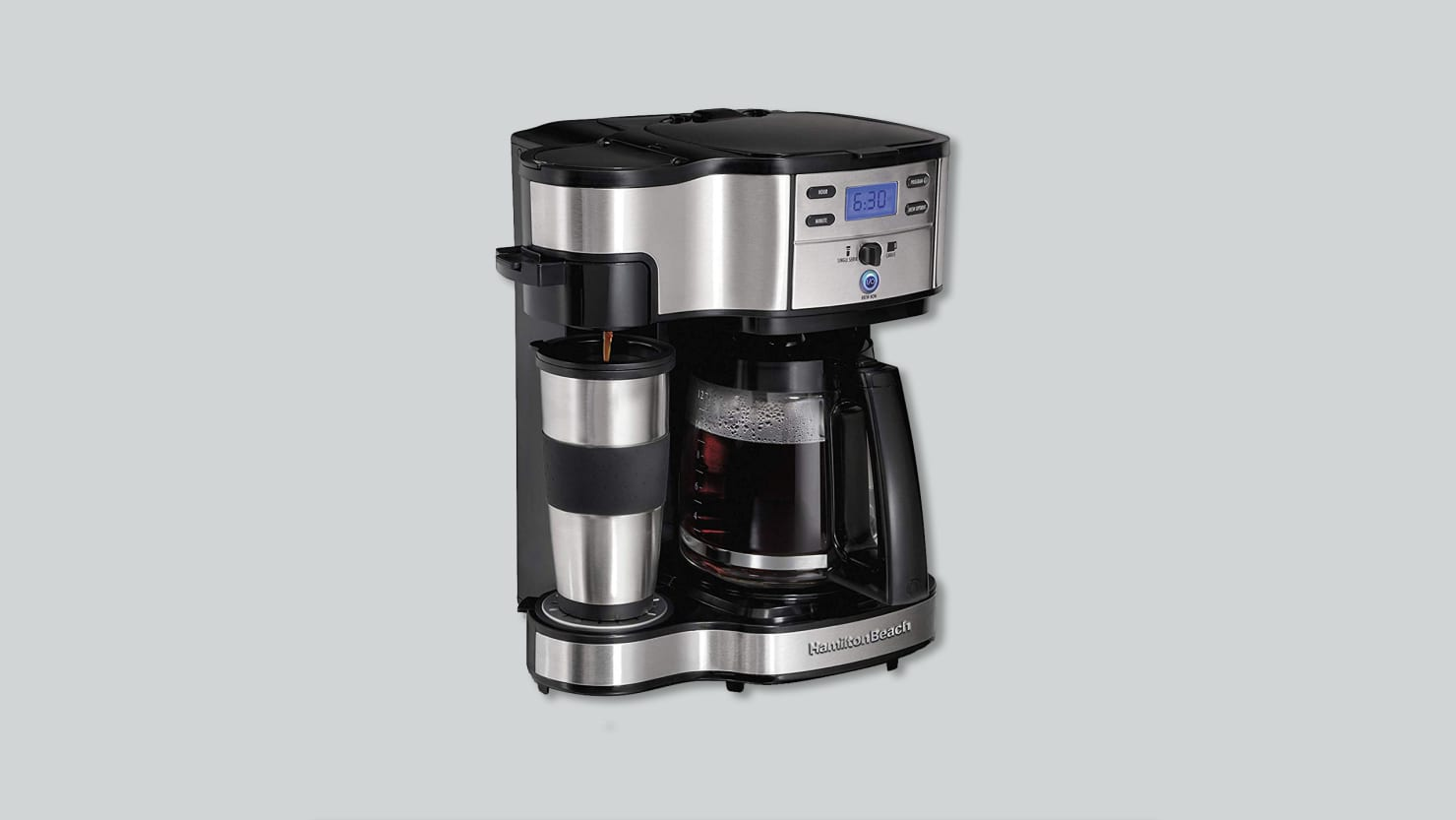 Today Only, Get Hamilton Beach's Top-Rated Coffee Machine for $36