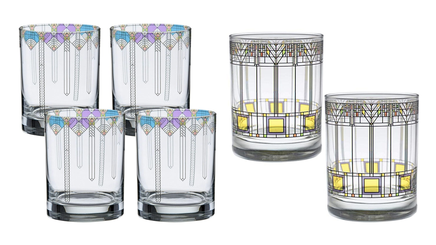 Add Some Art Deco Design to Your Kitchen and Home With Amazon's New Frank Lloyd Wright Collection