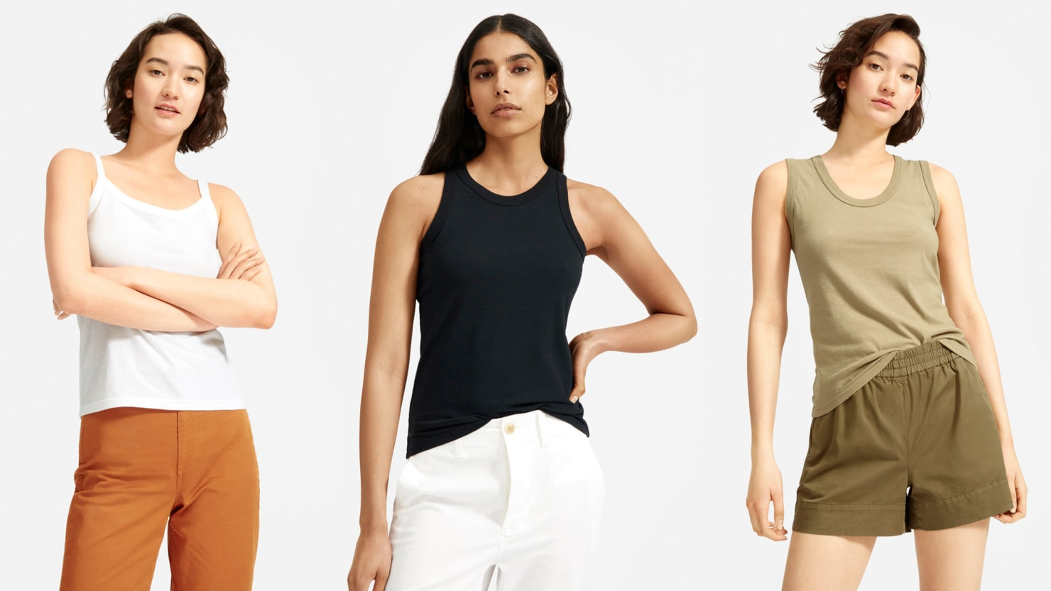 New at Everlane: Three Lightweight, Cotton Tops in Throwback Styles and