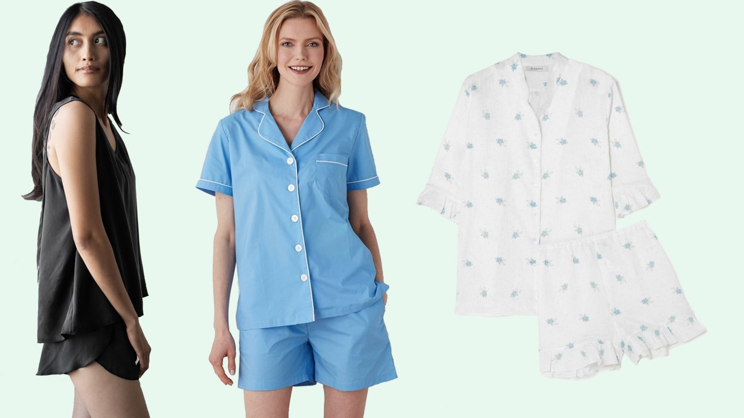 Scouted: From Cotton to Silk, These Are the Pajamas That Will Keep You Cool on the Hottest Summer Nights