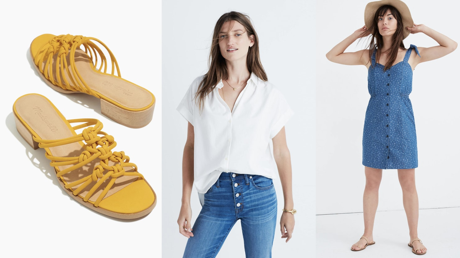 Scouted: Spend Your Weekend Shopping Madewell's Extra 40% Off Sale and Get Your Summer Wardrobe Filled Out