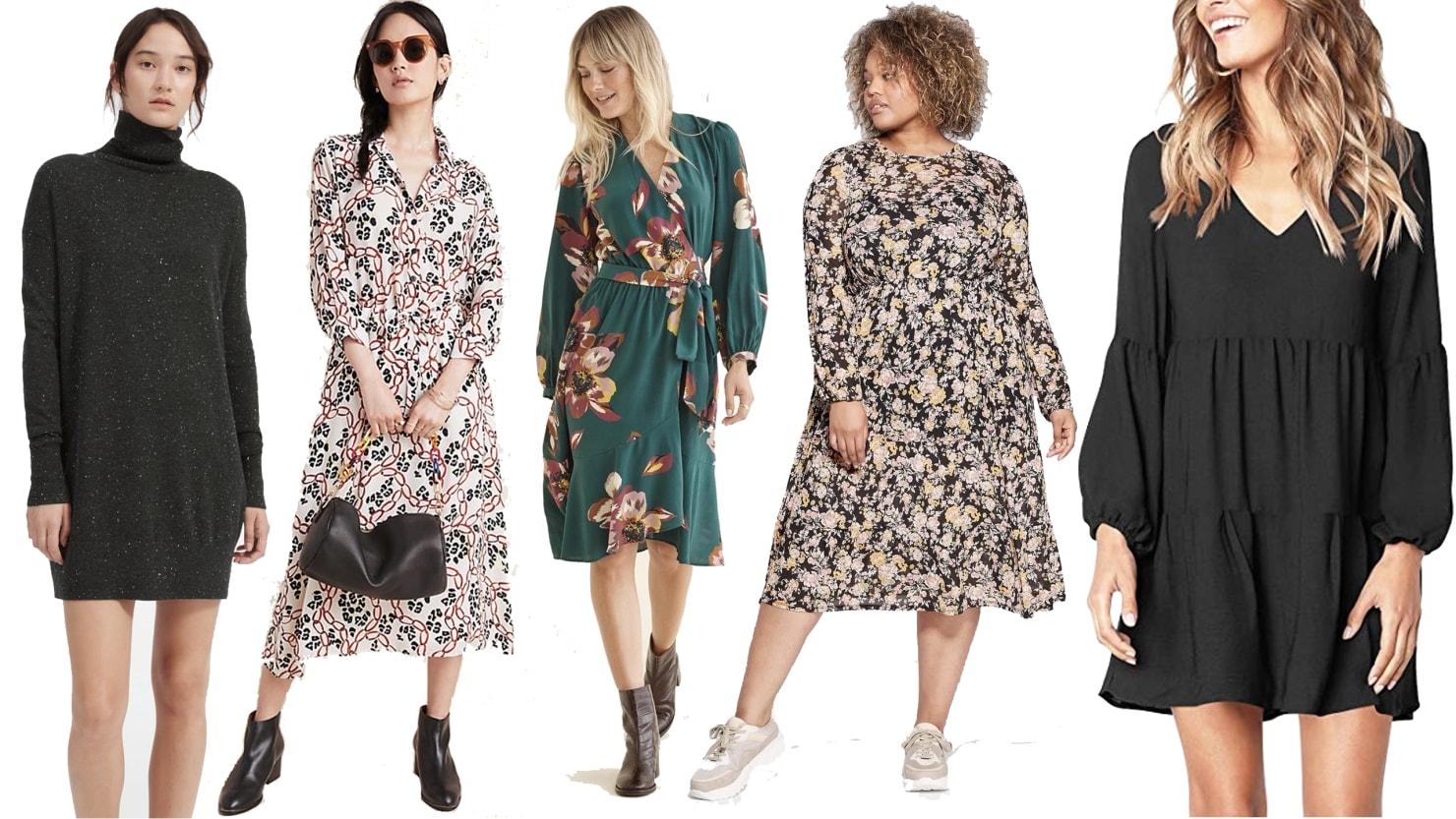 Scouted: The Start of Fall Is the Perfect Time to Wear a Long-Sleeve Dress — Here Are Some Top Options