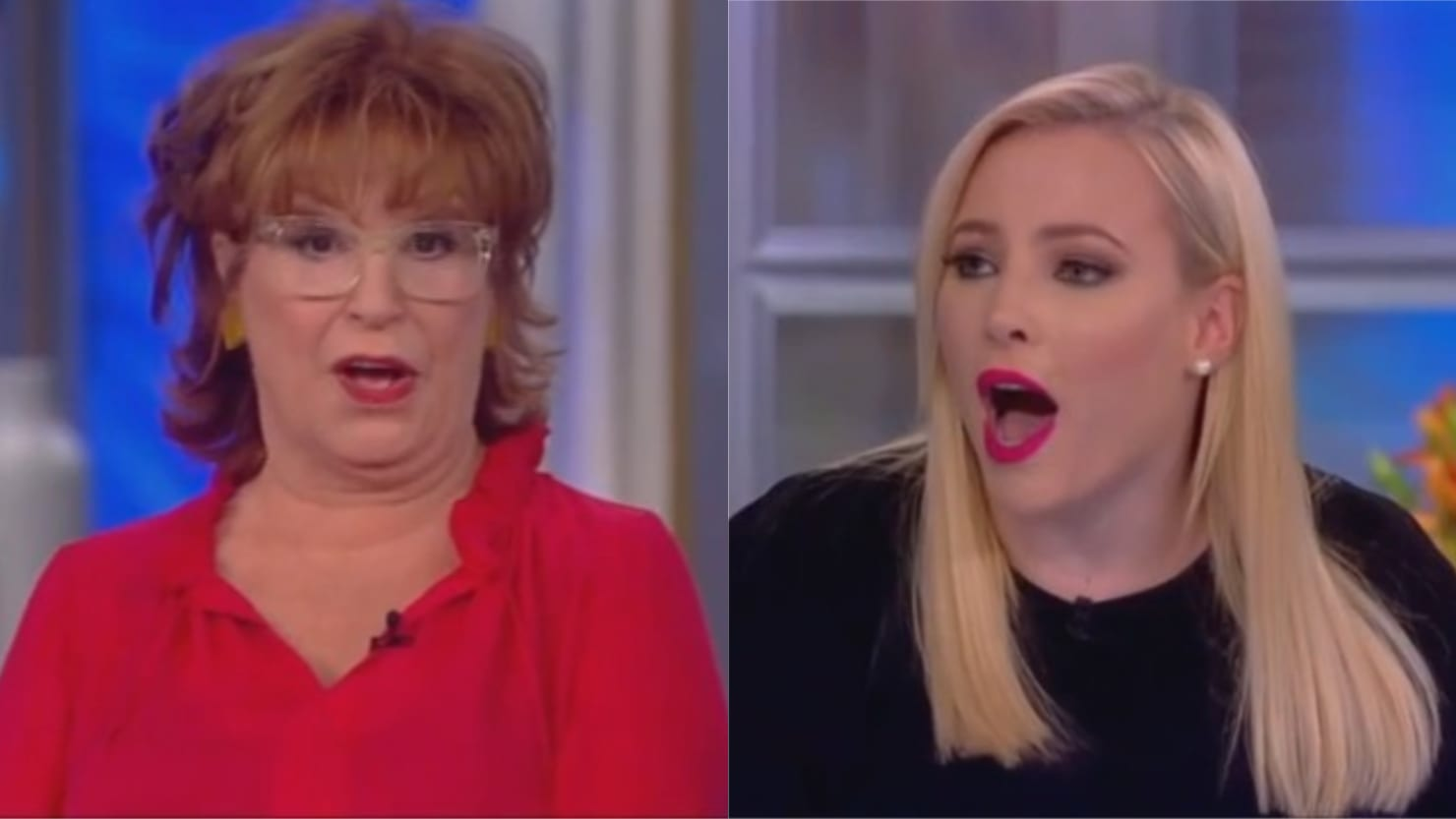 Meghan McCain and Joy Behar Blow Up Over Bloomberg and Trump: 'None of Your Business!'