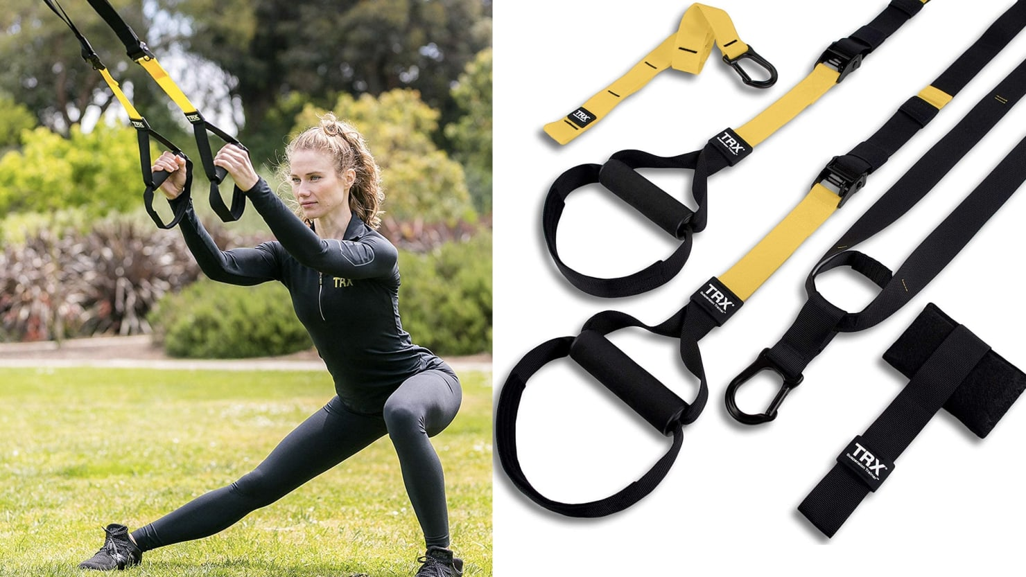 These TRX Straps Bring the Gym Home to You, Which Is Good Because You're Probably Staying Home Right Now