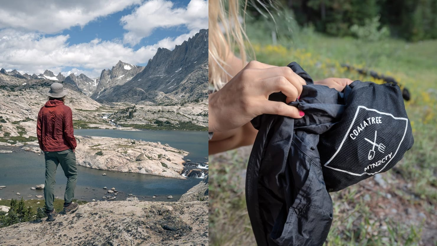 This Windbreaker Packs Down into a Pocket and Self-Heals If Punctured