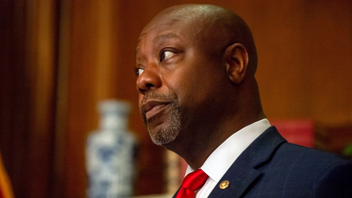 Tim Scott Calls on Trump to 'Correct' White Supremacist Debate Comments