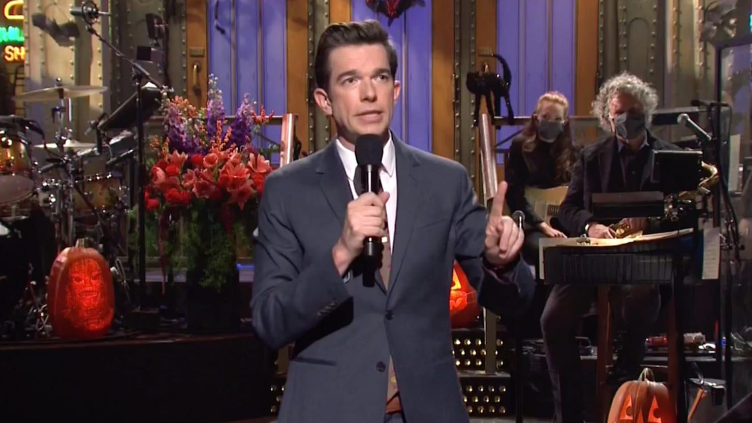 SNL Host John Mulaney: 'Nothing Will Change' if Biden Beats Trump - The Daily Beast