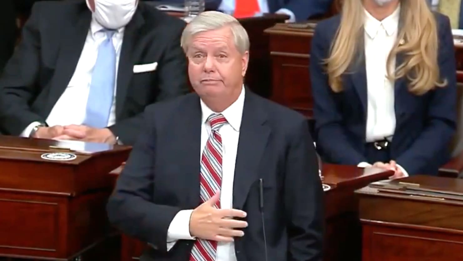 Lindsey Graham Finally Remembers Trump Is the Worst
