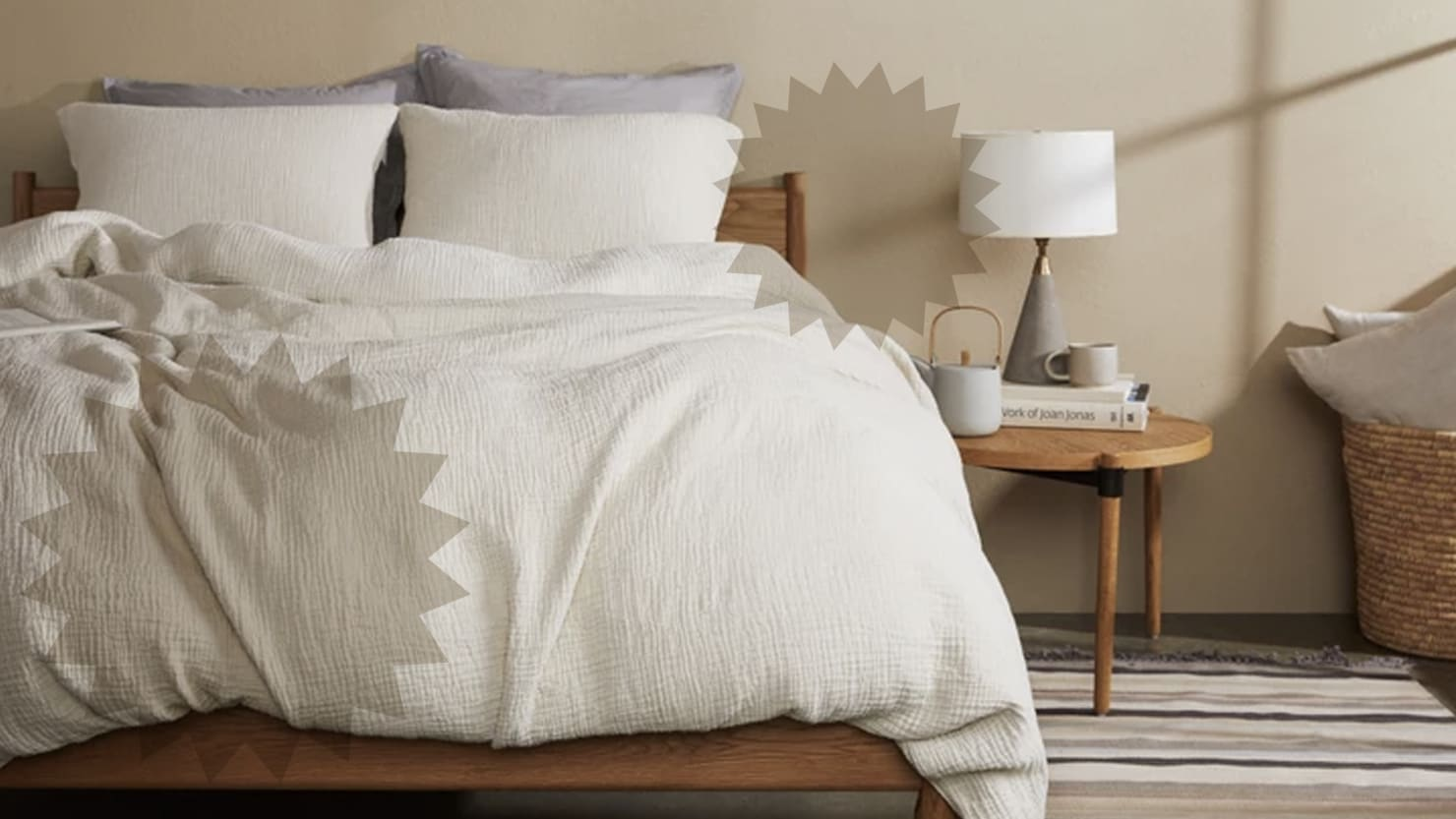 As If You Needed a Reason to Spend More Time In Bed, Parachute Bedding Will Make Your Bed Your Favorite Place