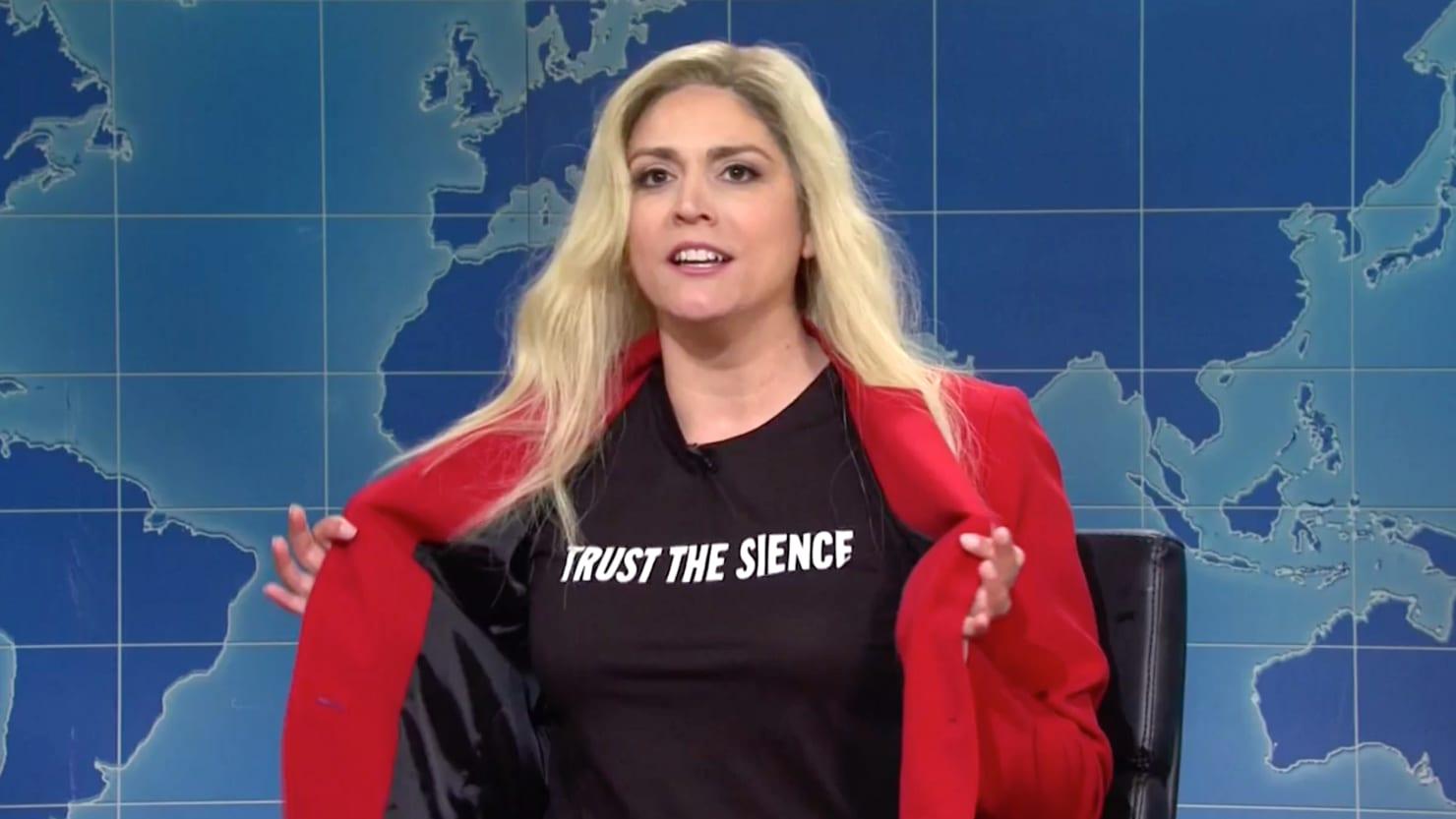 SNL Destroys Marjorie Taylor Greene's Batshit Transphobia