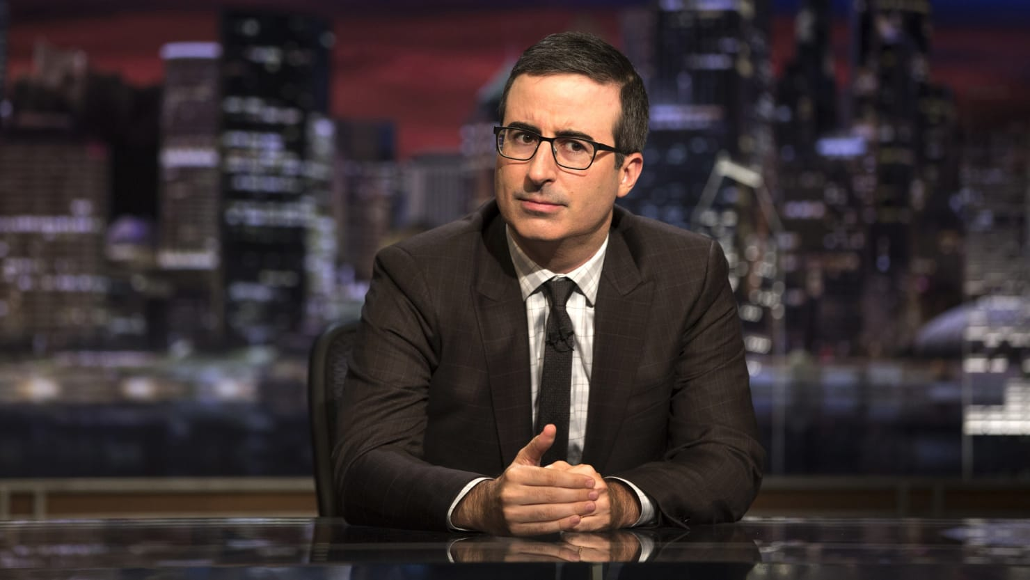 John Oliver Torches Trump For Wanting to Buy Greenland: It's 'Icy' and 'Distant' Like Melania