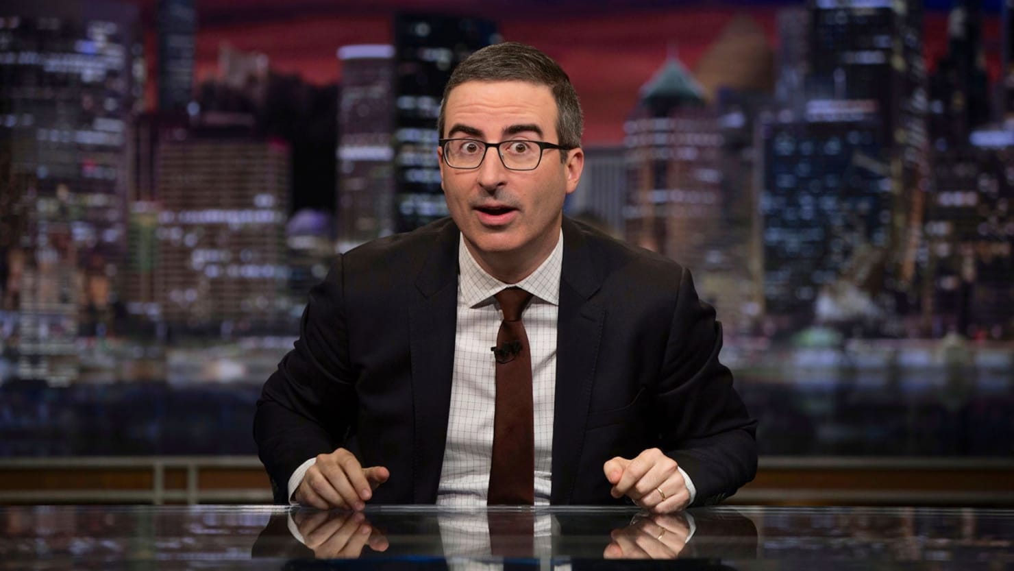 John Oliver Absolutely Goes Off on Susan Collins Over Trump Acquittal