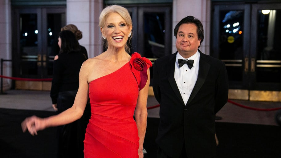 Joe Walsh Courts Kellyanne Conway's Husband George for Possible 2020 Trump Primary Challenge