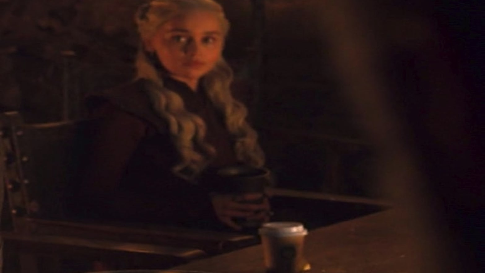 'Game of Thrones' Left a Starbucks Coffee Cup in a Scene and It's Hilarious