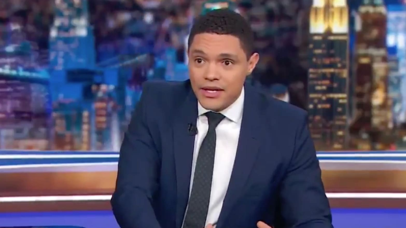 'Daily Show's' Trevor Noah Schools Audience Member Who Wants Reparations for White People