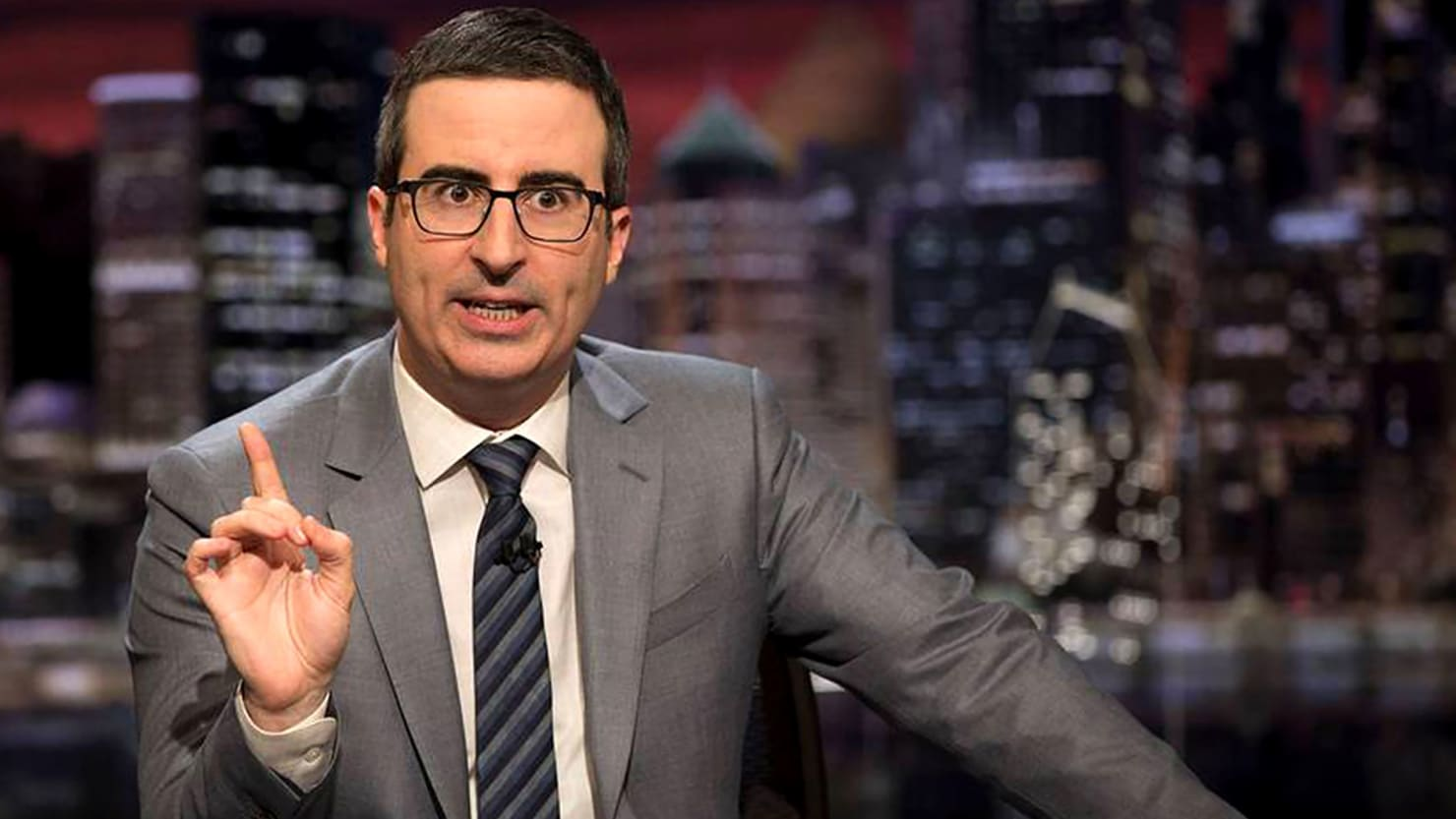 John Oliver Goes Off on Sinclair, Calls News Anchors 'Members of a Brainwashed Cult'